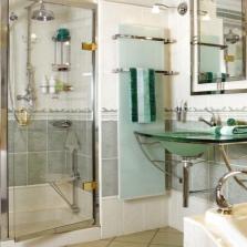 Полотенцесушитель электрический в ванной комнате