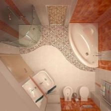 Современная планировка ванной