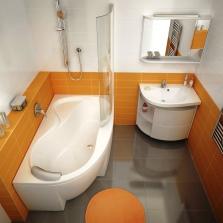 Совремнная перепланировка ванной