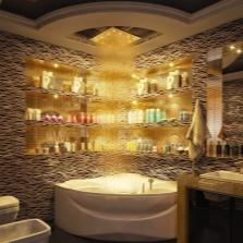 Тропический душ в дизайне ванной