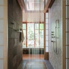 Душевая система в ванной