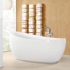 Овальная отдельностоящая ванна