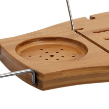 Компактный навесной столик Umbra Aquala для ванной