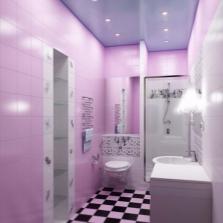 Небольшая ванная 5 кв м