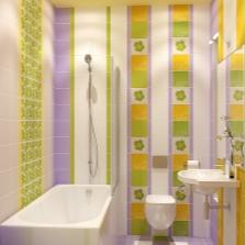 Ванная 5 кв м - организация пространства