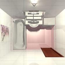Планировка ванной комнаты 5 кв м