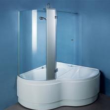 Комбинированная ванна с перегородкой
