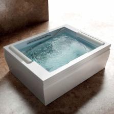 Акриловая квадратная ванна