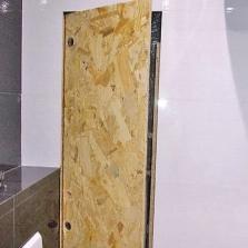 Самодельный сантехнический люк невидимка в ванной