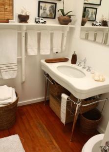 Разнообразные аксессуары для ванной