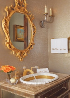 Красивые зеркала в ванной