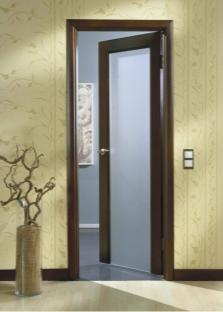 Комбинированные двери из МДФ и стекла от производителя