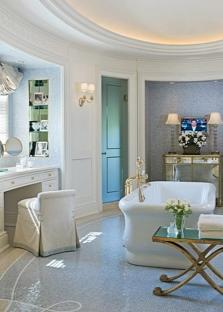 Цветовое решение в ванной комнате