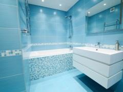 Голубая ванная - окунитесь в небо