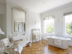 Белая ванная комната - особенности дизайна