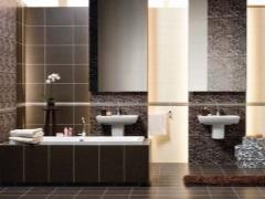 Коричневая ванная комната - благородство и уют