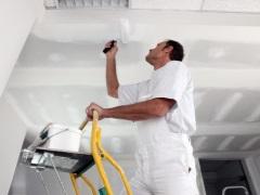 Краска для потолка в ванной. Как покрасить потолок?