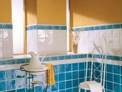 Способы оформления ванной комнаты плиткой
