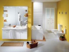 Желтая ванная комната – пусть всегда будет солнце!