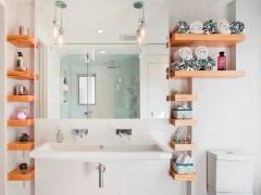 Полки в ванную комнату – оптимизируем пространство