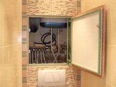 Как закрыть трубы в ванной - самые простые и эффективные способы маскировки