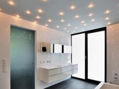 Потолочные светильники в ванную комнату