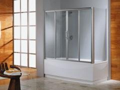 Раздвижные шторки для ванны - современная и стильная защита от брызг