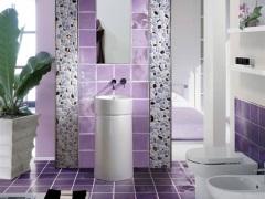Сиреневая ванная комната - непревзойденный уют и романтичность