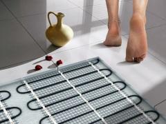 Теплый пол в ванной комнате