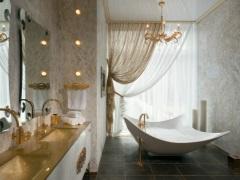 Ванная комната в классическом стиле - сдержанность и изысканность