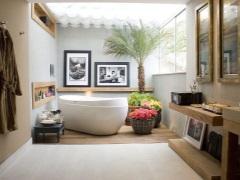 Цветы для ванной комнаты - преображаем интерьер