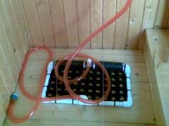 Душ-топтун для дома и дачи - компактность и удобство