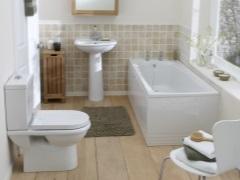 Интерьер маленькой ванной комнаты - эффективно используем пространство