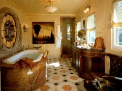 Как создать уют и теплоту в ванной комнате?