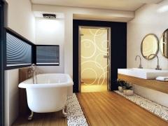 Выбираем лучшие двери для ванной комнаты - обзор материалов и производителей