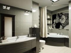 Дизайн модной ванной комнаты - современные тенденции