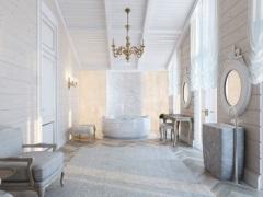 Большая ванная комната - продумываем дизайн до мелочей