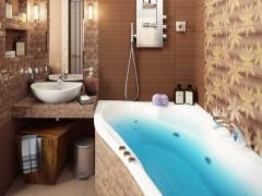 Ванная комната 2 кв. м. - маленькие секреты успешного дизайна