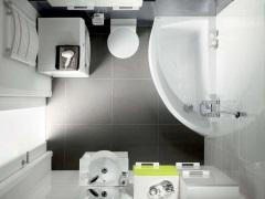 Отделка маленькой ванной комнаты - секреты и особенности