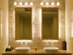 Подсветка в ванной комнате - эффектная игра света