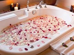 Ванна с розами - удовольствие для тела и души