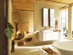 """Ванная комната в стиле """"кантри"""" - теплота деревенского уюта"""