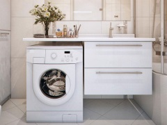 Где поставить стиральную машину: стандартные и нестандартные варианты размещения