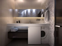 Мебель для ванной под встраиваемую стиральную машину