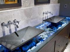 Раковина из искусственного камня для ванной