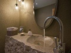 Раковина из натурального камня для ванной