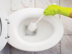 Как очистить унитаз от мочевого камня?