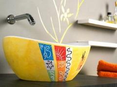 Накладные раковины для ванной комнаты