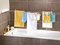 Настенная сушилка для белья в ванную