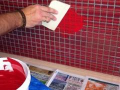 Расход затирки на квадратный метр плитки